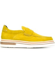 Weber Hodel Feder 'Hillmore' Loafers Yellow And Orange