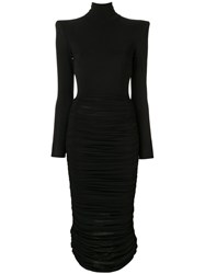 Alex Perry Fallon Dress Black
