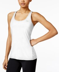 Under Armour Heatgear Racerback Tank Top White