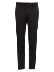 Paul Smith Tapered Leg Stretch Cotton Chinos
