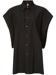 Y's Batwing Sleeve Shirt Black