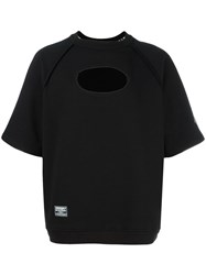 Ktz Inside Out Raglan T Shirt Black