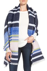 Collection Xiix Cabana Stripe Wrap Blue