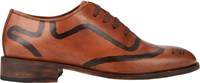 Esquivel Hand Painted Cap Toe Oxfords Brown