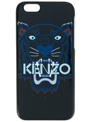 Kenzo Tiger Printed Iphone 6 Case Blue
