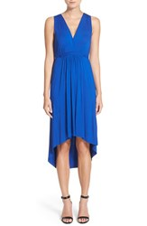 Women's Felicity And Coco Pleated High Low Dress Cobalt