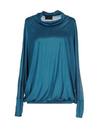 By Malene Birger Topwear T Shirts Women Deep Jade