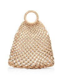 Elizabeth And James Alfonso Straw Tote Natural