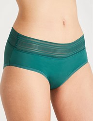 Soda Sunglasses Thinx Hiphugger Stretch Cotton Briefs Forest