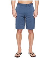 Hurley Dri Fit Heather Chino Squadron Blue Men's Clothing