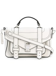 Proenza Schouler Ps1 Satchel Women Leather One Size White