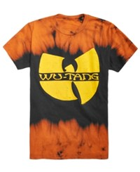 Fea Tie Dye Wu Tang Clan Graphic T Shirt Black