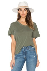 The Great U Neck Tee Olive