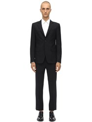 Givenchy 120'S Wool Suit Black