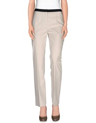 Metradamo Trousers Casual Trousers Women Light Grey