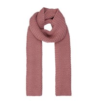 Harrods Of London Chunky Cashmere Scarf Female Pink