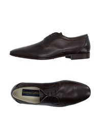 Gianfranco Lattanzi Footwear Lace Up Shoes Men Dark Brown
