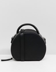 Stradivarius Semi Circle Black Bag