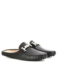 Tod's Exclusive To Mytheresa.Com Gommini Double T Slippers Black