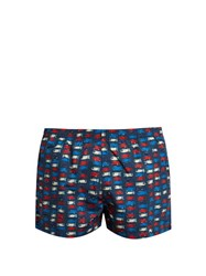 Timo Edition Swim Shorts Navy Multi