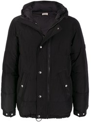 Zadig And Voltaire Kell Crinkled Parka Black