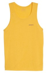 Patagonia 'S Nine Trails Tank Rugby Yellow