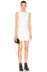 Givenchy Pearl Trim Dress In White