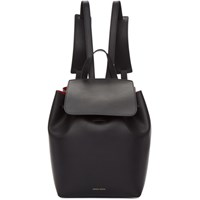 Mansur Gavriel Black Mini Backpack