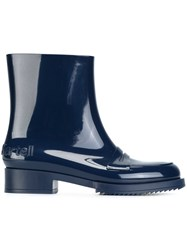 N 21 No21 Ankle Rain Boots Blue