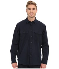 Filson Chino Shirt Storm Navy Men's Long Sleeve Button Up