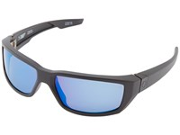 Spy Optic Dirty Mo Matte Black Happy Bronze Polar W Blue Spectra Sport Sunglasses