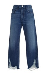 3X1 Higher Ground Boyfriend Jeans Blue