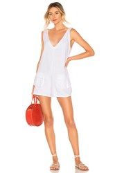 Kopper And Zink Tammy Playsuit White