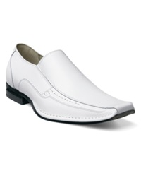Stacy Adams Templin Loafers Men's Shoes White