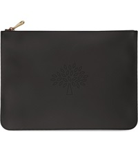 Mulberry Large Blossom Pouch Black