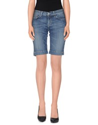 Jacob Cohen Jacob Coh N Denim Denim Bermudas Women Blue