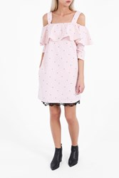 Paul Joe Women S Naemaden Off Shoulder Daisy Dress Boutique1 Pink