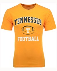 Colosseum Men's Tennessee Volunteers Football Arch Logo T Shirt Orange