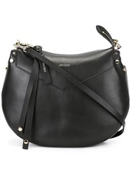 Jimmy Choo Artie Shoulder Bag Black