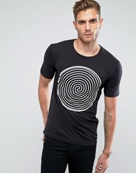 Only And Sons T Shirt With Print Black White