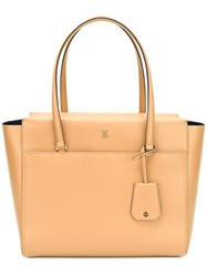 Tory Burch Parker Tote Nude Neutrals