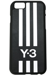 Y 3 Logo Printed Iphone 6 Cover Black