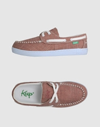 Keep Slip On Sneakers Red
