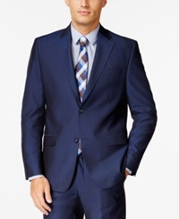 Sean John Blue Tic Classic Fit Jacket