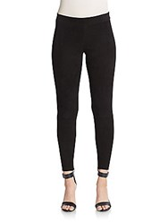 Vince Suede Leggings Black