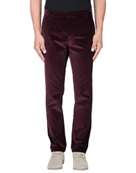 Band Of Outsiders Casual Pants Deep Purple