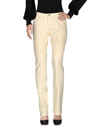 9.2 By Carlo Chionna Casual Pants Light Yellow