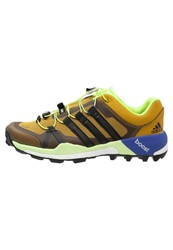 Adidas Performance Terrex Boost Gtx Trail Running Shoes Raw Ochre Core Black Bright Yellow Mustard