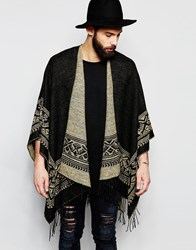 Gregorys Gregory's Cape With Edge Pattern In Brown Brown