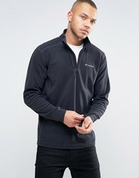 Columbia Klamath Range Ii Sweatshirt Half Zip Fleece In Black Black